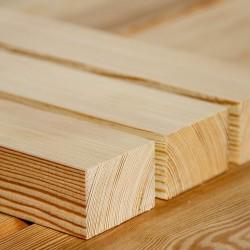 Dachlatte Holzleiste Kantholz 40x60 mm Sibirische Lärche